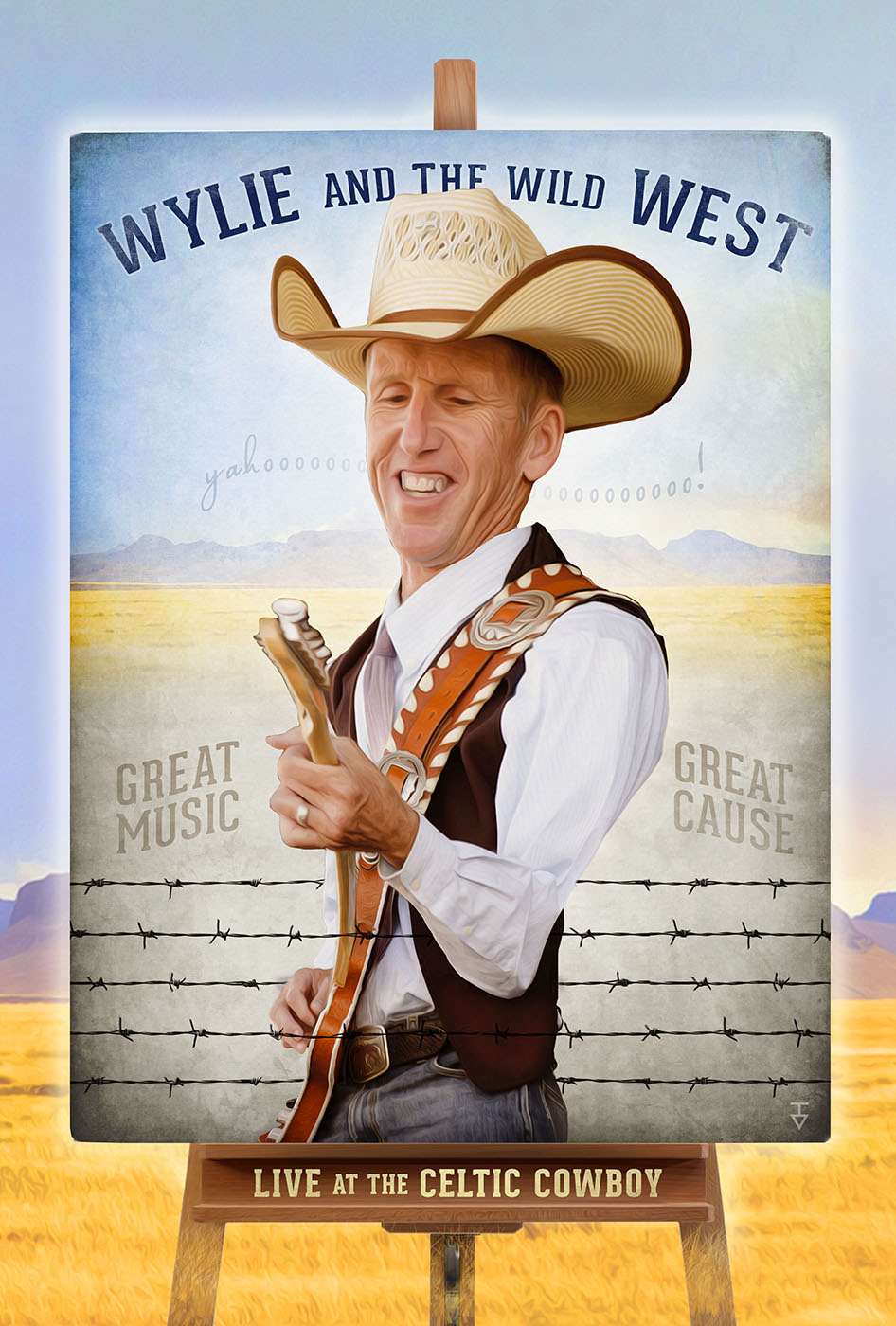 Wylie and the Wild West Poster